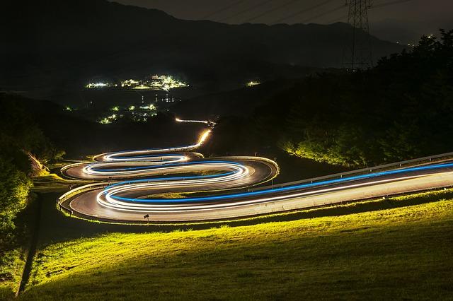 světla silnice