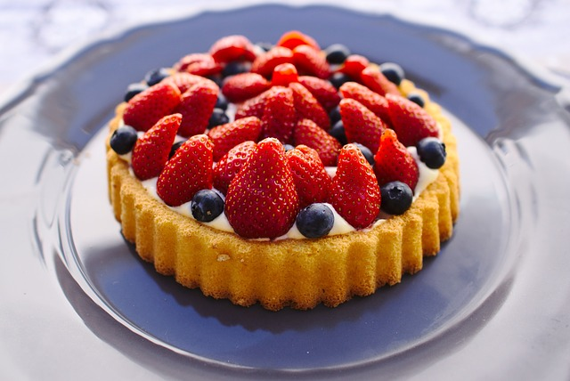 dort s ovocem